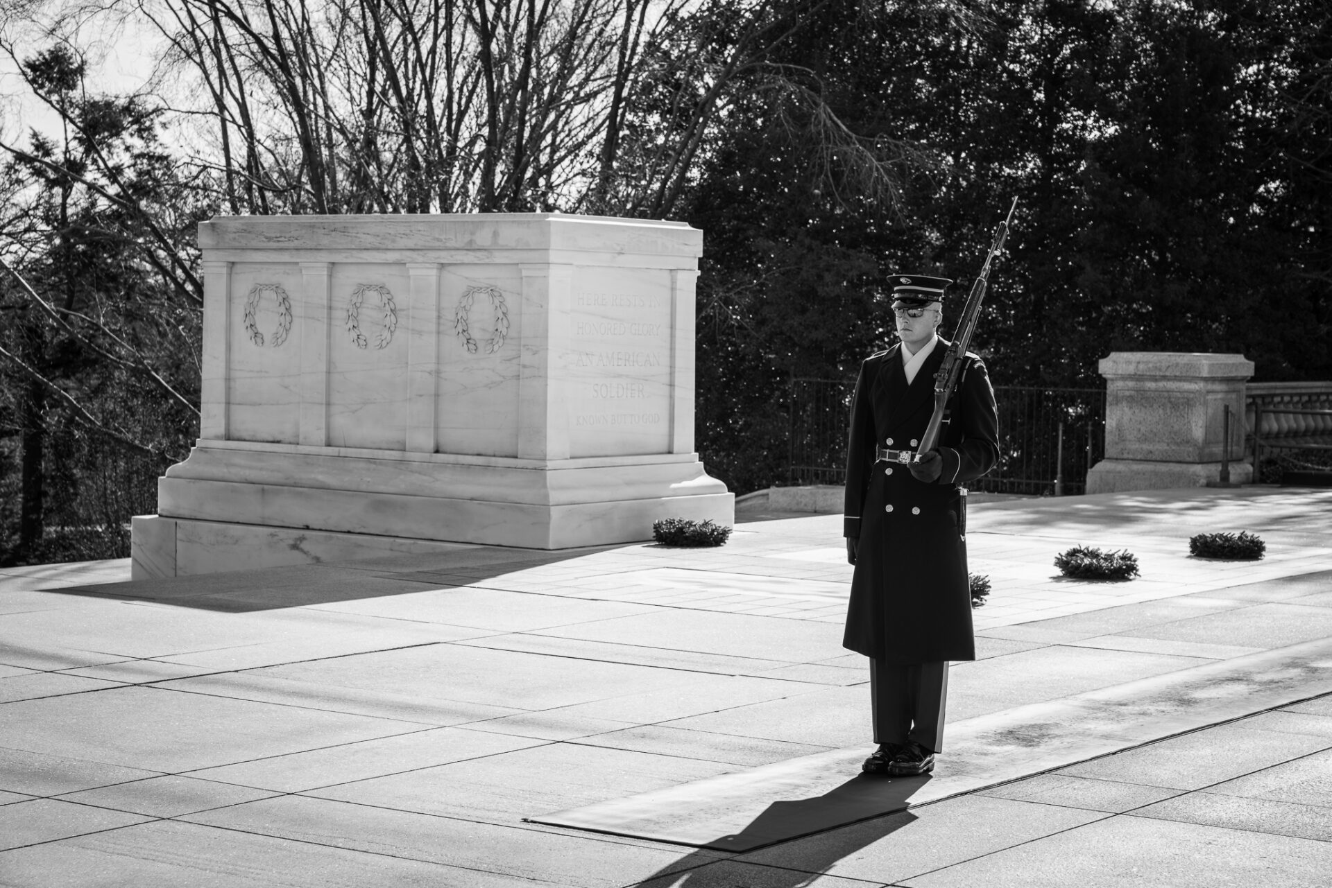 Guard at Tomb of the Unknown Soldier
